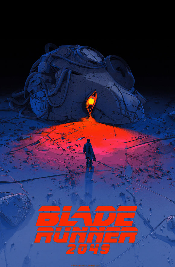 Blade Runner 2049 by Pascal Blanche 24x36 Mondo SDCC 2019 Exclusive Poster
