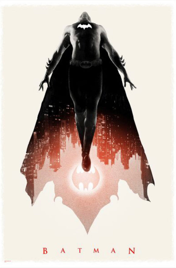 Batman Variant by Greg Ruth Mondo 24x36 SDCC 2019 Exclusive Poster