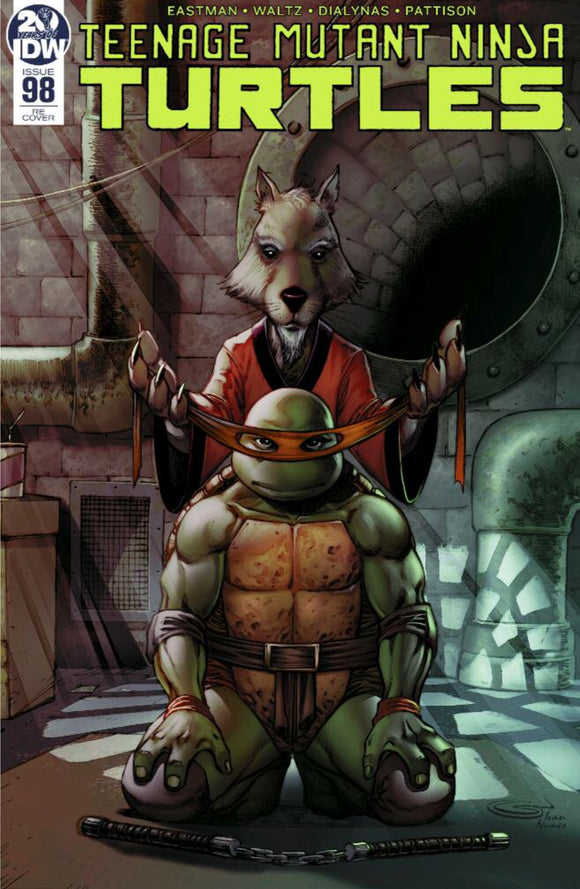 Teenage Mutant Ninja Turtles #98 Sajad Shah NYCC Variant