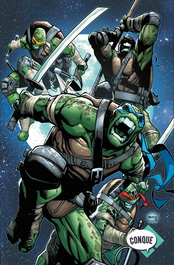Teenage Mutant Ninja Turtles #81 Humberto Ramos Conque Mexico Exclusive Variant
