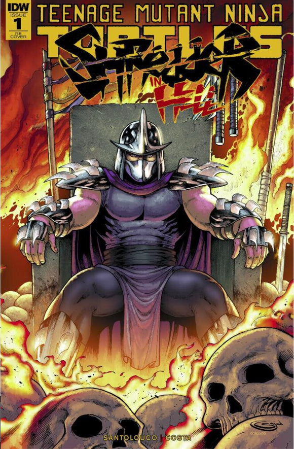 TMNT: Shredder in Hell #1 Sajad Shah Exclusive Variant