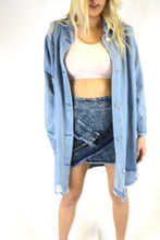 Lightwash straight denim jacket