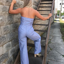 Jumpsuit with front tires
