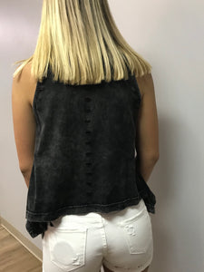 Black Zip Top