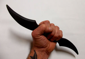 Knife Training Knives Dual Blade Combat Drop Point Handle Practice Fighting