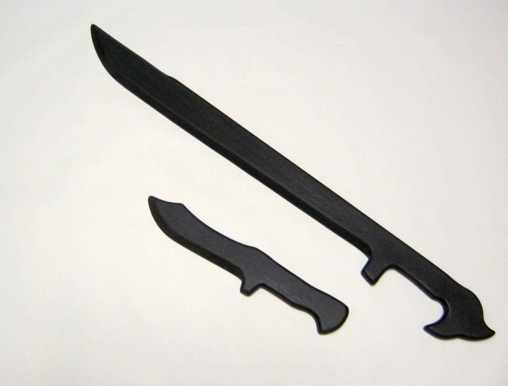 Training Arnis Espada Polypropylene Daga Sword Navy Seal Knife Dagger Martial Arts Escrima