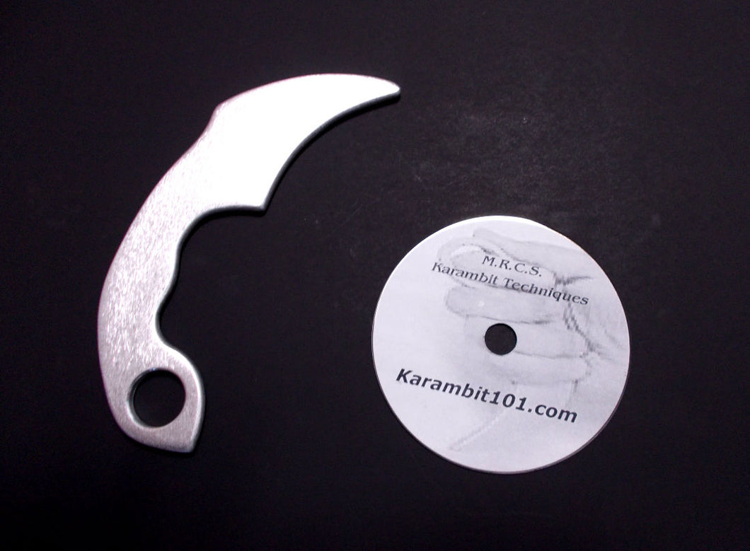 Kerambit Training Knives Karambit w Knife Fighting DVD MMA Instruction Video
