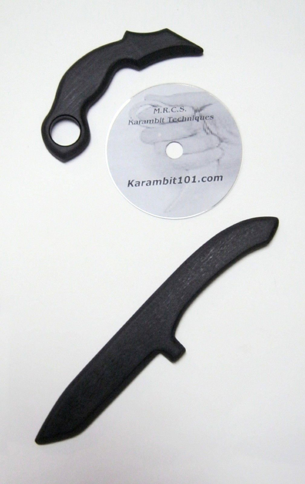 Practice Training Tanto Karambit Knives & Knife Fighting DVD Instruction