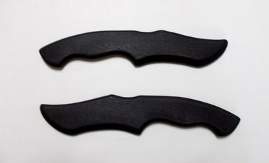 Double Dagger Training Knife SF Tactical Karate Knives Ninja Martial Art