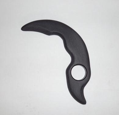 Claw Tactical Training KARAMBIT Polypropylene Straight Fixed Full Tang Trainer Knife