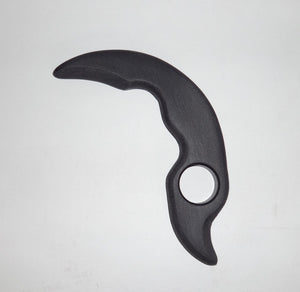 Claw Tactical Training KARAMBIT Straight Fixed Full Tang Trainer Knife