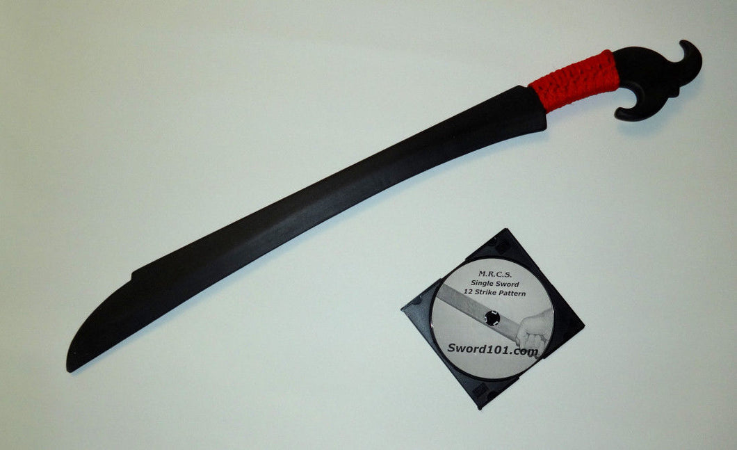 Balato Indonesian Training Philippines Polypropylene Ginunting Sword Practice DVD Trainer