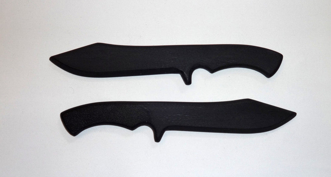 Training Navy Seal Practice Knife Polypropylene Commando SF Knives Trainer pair