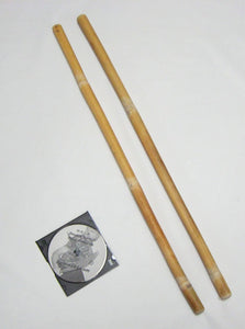 Pair Rattan Escrima Arnis Fighting Sticks Swords Training Video