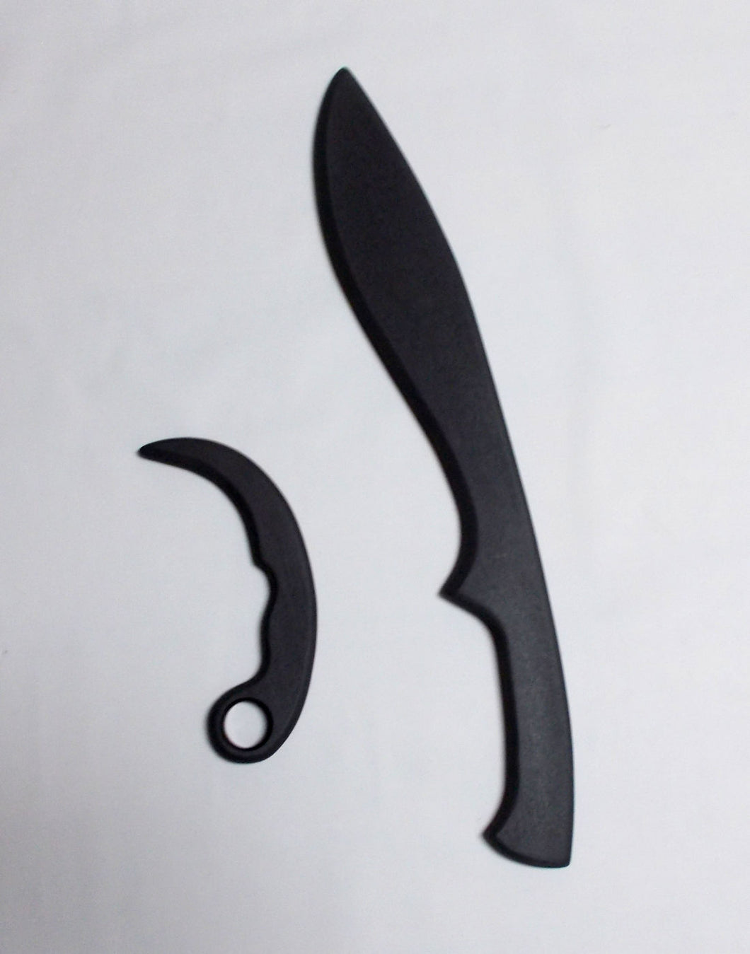 Kukri Training Espada Daga Polypropylene Sword Knife Tactical Practice Karambit Knives