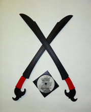 Balato Indonesian Philippines Ginunting Training Swords Polypropylene Sword Techniques DVD