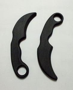 Kalaj Kutter Pair Karambit Double Polypropylene Training Knives Kerambit Knife SF Trainer