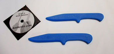 Blue Ice Tactical Training Knives & Defense Techniques Knife Fighting DVD Kali