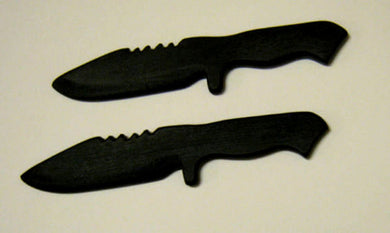 Bowie Training Knife Kalaj Kutter SF Knives Martial Arts Self Defense