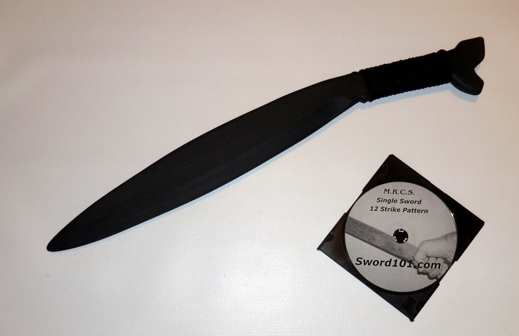Barong Training Polypropylene Sword Martial Arts Practice DVD Trainer