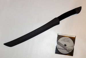 Persian Practice Training Sword Polypropylene Martial Arts DVD