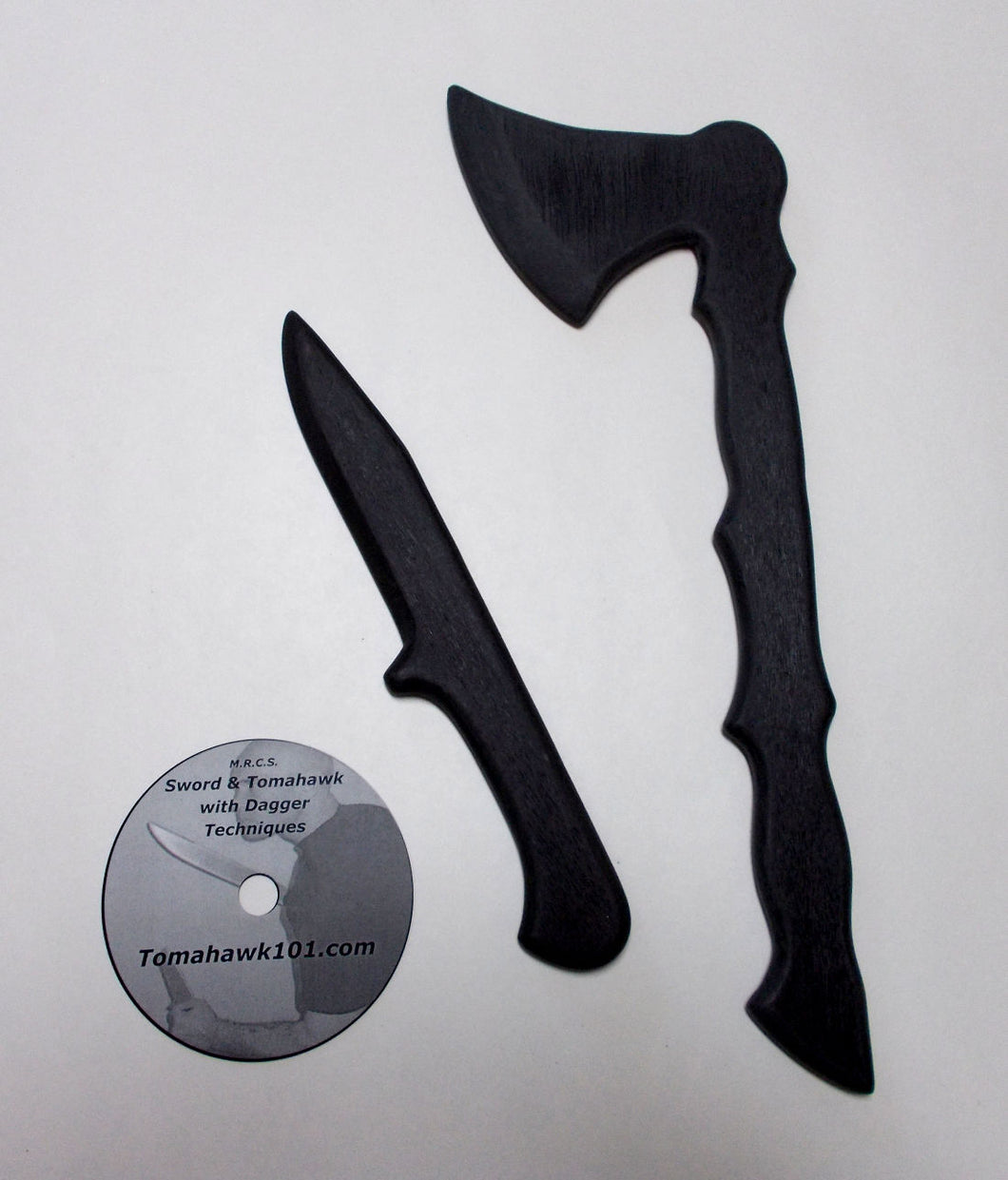 Tactical Training Tomahawk Polypropylene Dagger SF Knife Martial Arts Techniques DVD