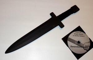 Arkansas Toothpick Training Polypropylene Sword Martial Arts Practice DVD Trainer