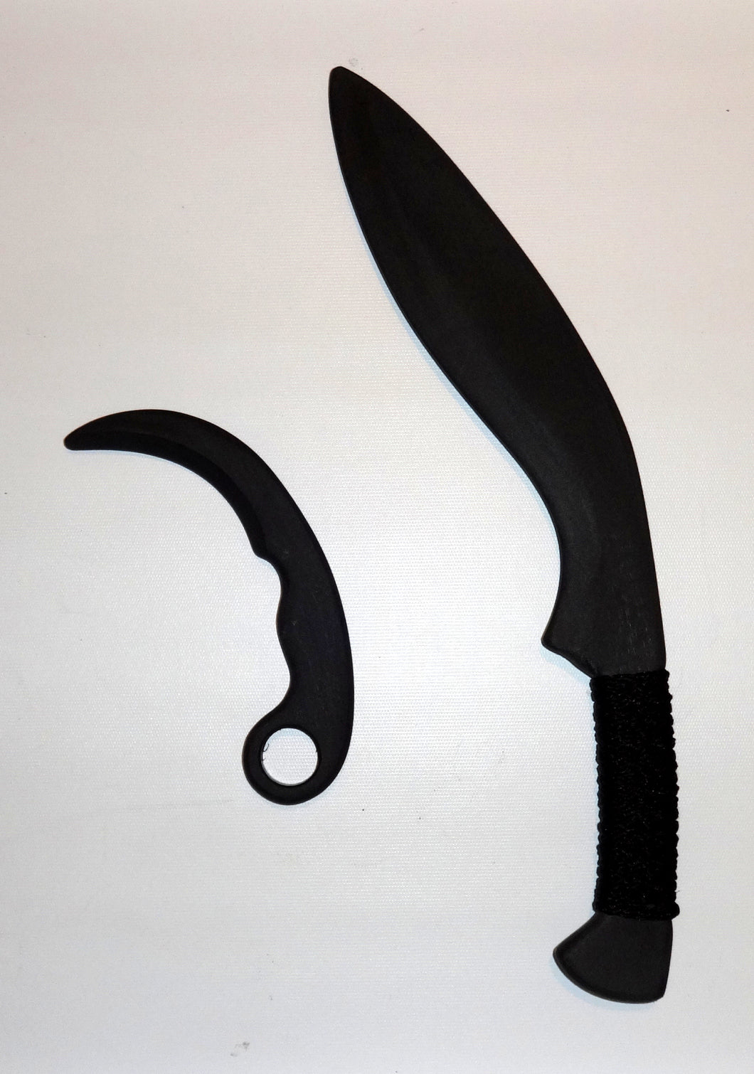 Traditional Kukri Training Polypropylene Sword Karambit Tactical Practice Fixed Blade Knife