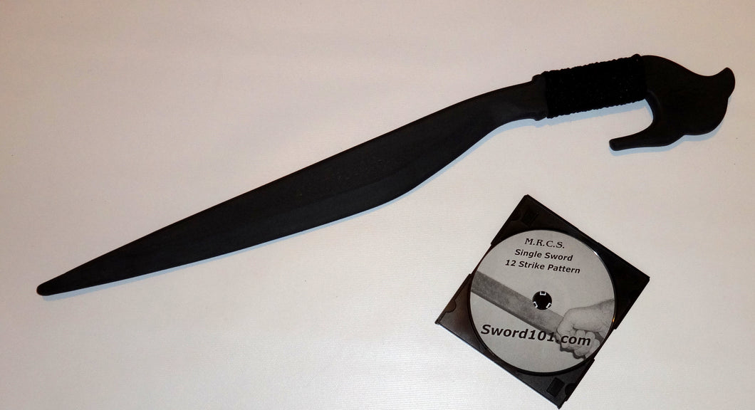 Philippines Lahot Polypropylene Training Sword Moro Knife Instruction DVD Trainer