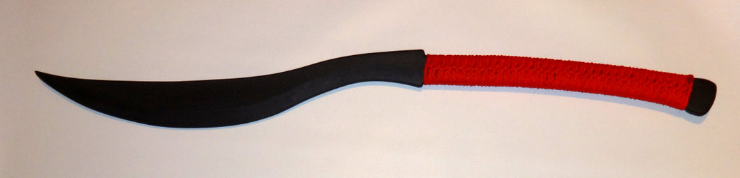 Practice Moro Blades Martial Art Training Panabas Polypropylene RED Philippines Sword