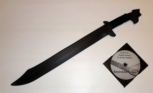 Polypropylene Espada Bolo Philippines Training Sword Martial Arts Practice DVD Trainer