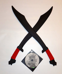 Philippines Practice Swords Polypropylene Filipino Training Instruction DVD Kali Arnis Escrima