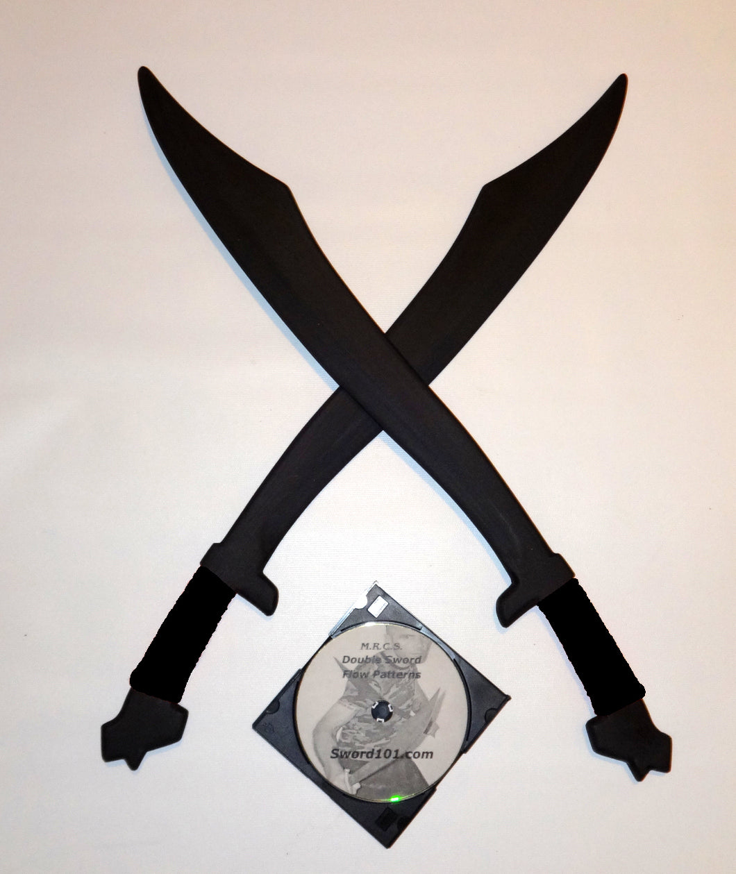 Philippines Practice Swords Filipino Polypropylene Training Instruction DVD Kali Arnis Black