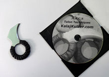 Karambit Tanto Talon Diamond Chip Steel Ring Knife DVD Defense