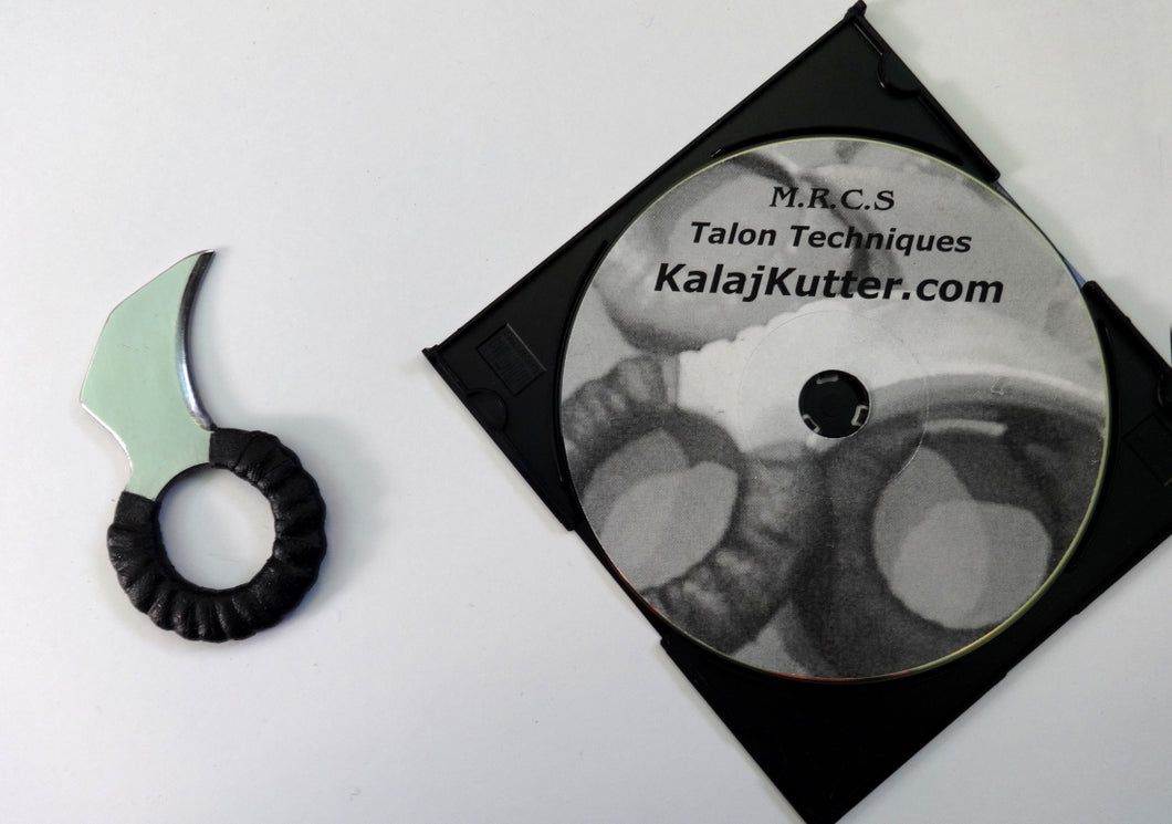 Karambit Talon Stainless Steel Ring & Knife Fighting DVD Defense