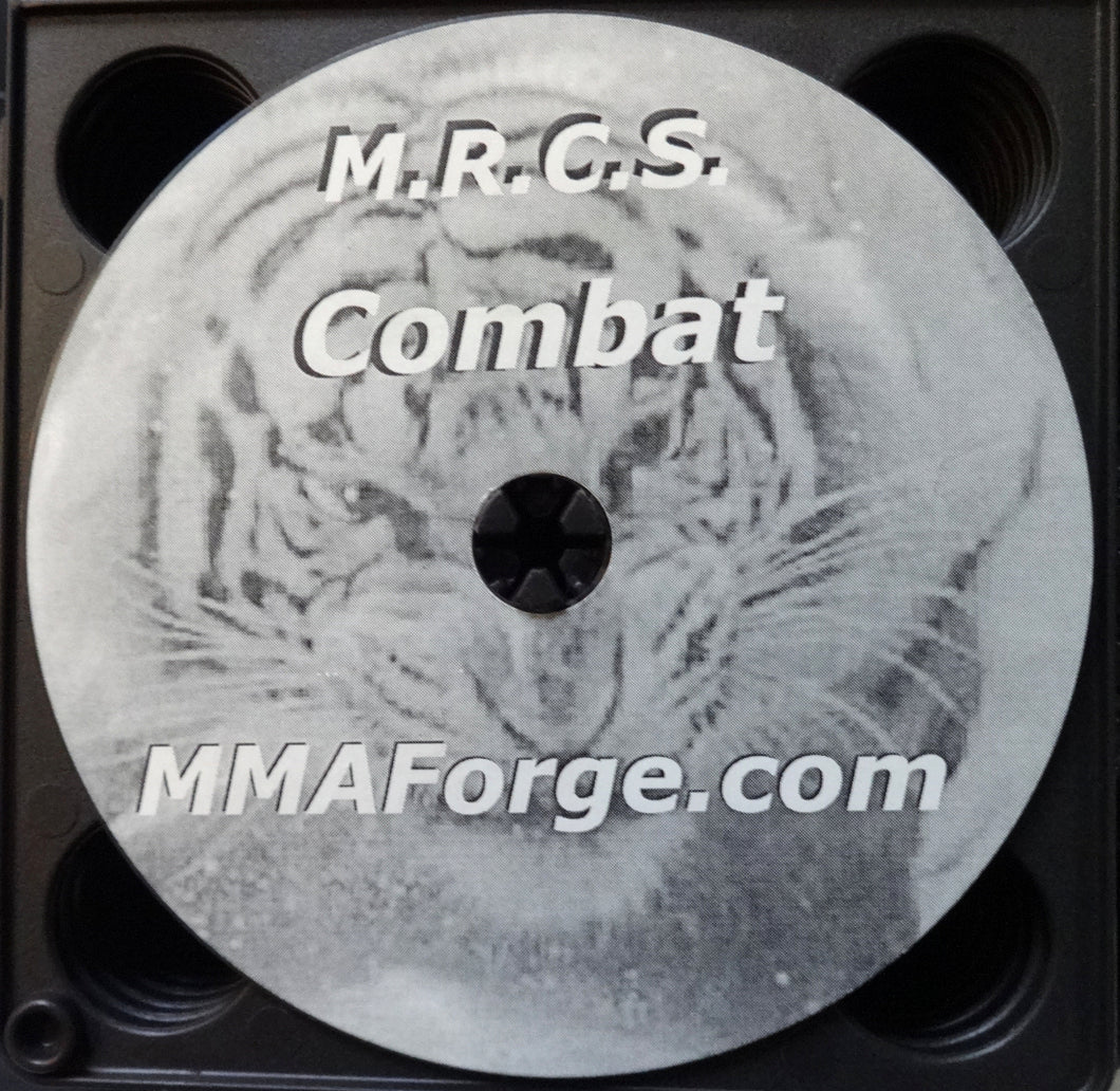 Combat Martial Arts Instructional DVD Training Hard Hitting Video