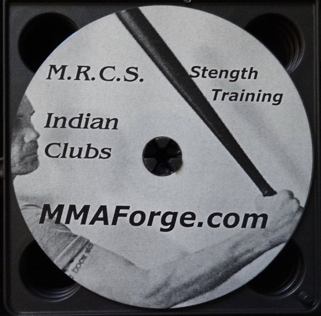 Body Building Indian Club Advanced Athletics Training Grip of Steel DVD Video