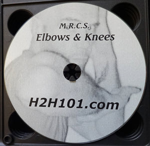 Elbows Knees Cage Fighting Trainer Combat MMA Instructional DVD Video