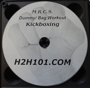 8 Limbs Training Muay Thai DVD Kickboxing Bag Work Punch Kick Elbows Knees Video