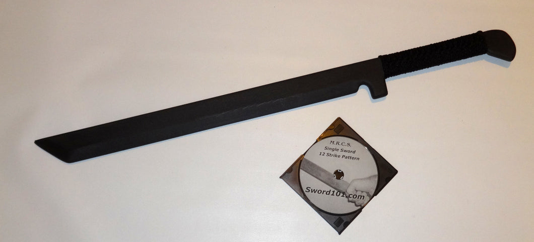 Ninjato Ninja Practice Sword Polypropylene Instructional DVD Katana Ronin Shinobi Trainer