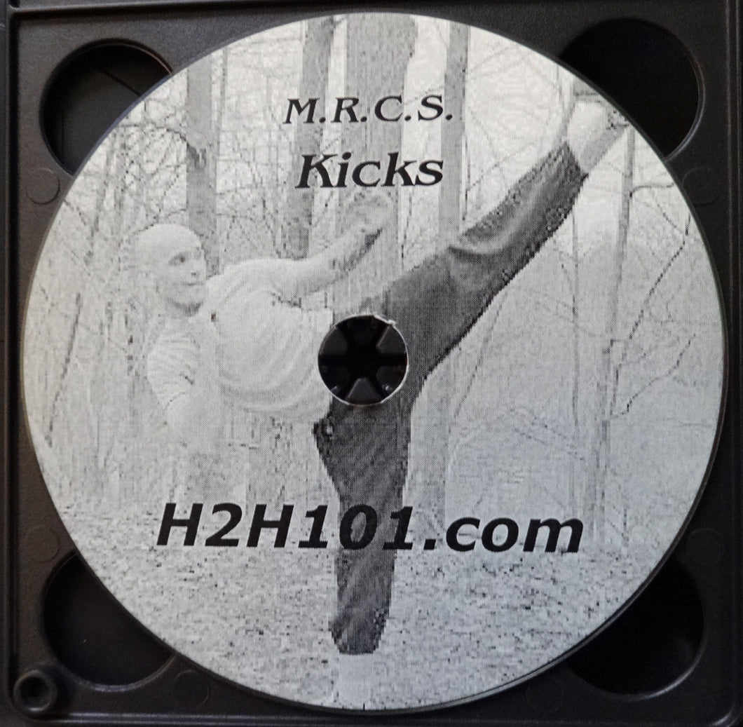 Mixed Martial Arts Kicking Skills Instructional DVD Combat Techniques Video