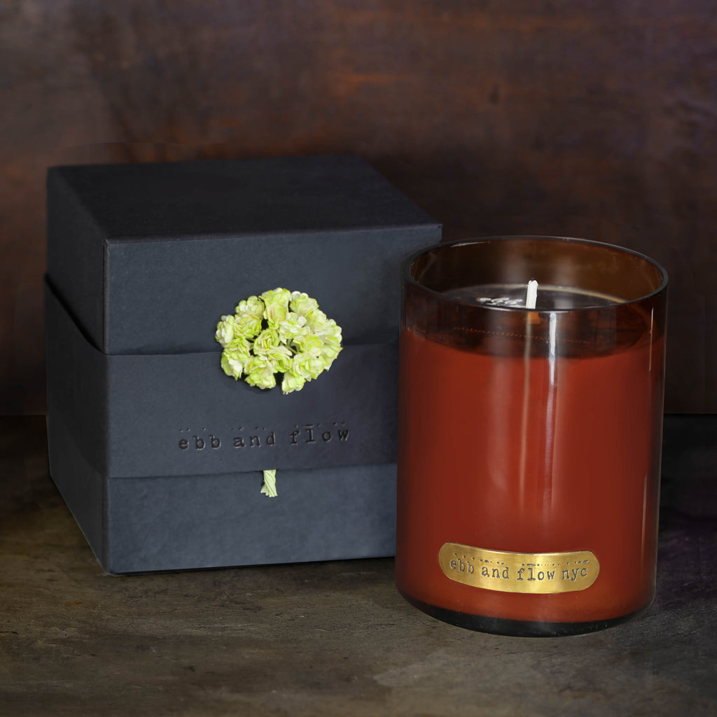 EUCALYPTUS + GREEN TEA SOY CANDLE  - 65 HR BURN TIME