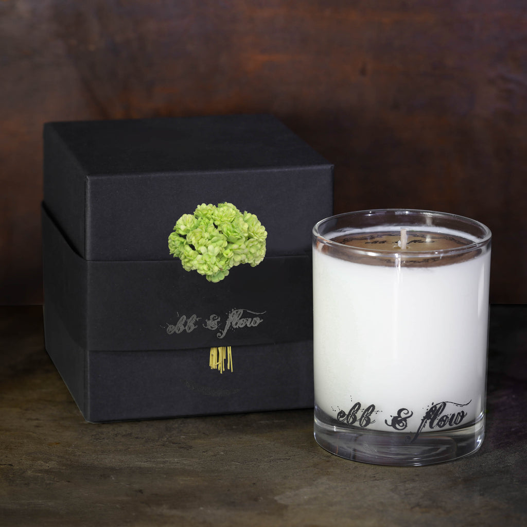 EUCALYPTUS + GREEN TEA SOY CANDLE - BOX NOT INCLUDED