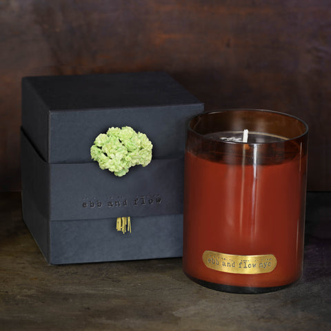 PRE ORDER FEB DELIVERY - FRESH GINGER LIME SOY CANDLE - 65 HR BURN TIME