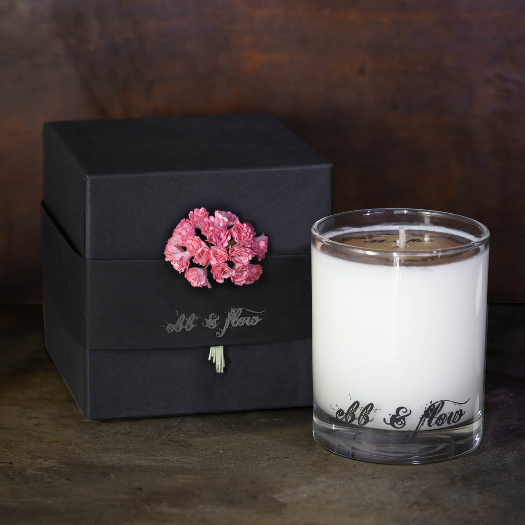 ROSE WATER SOY CANDLE - BOX NOT INCLUDED