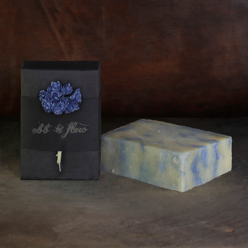MOSS WOODS & SEA SALT BAR SOAP (VEGAN)