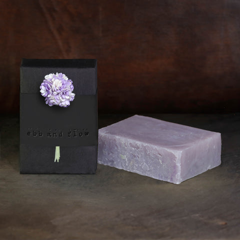 LILAC BAR SOAP (VEGAN AND ORGANIC)