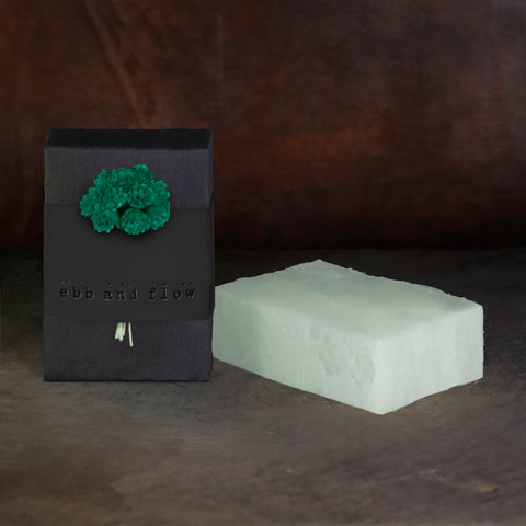 EUCALYPTUS + GREEN TEA BAR SOAP (VEGAN AND ORGANIC)
