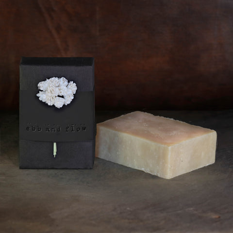 SANDALWOOD BLOSSOM BAR SOAP (VEGAN AND ORGANIC)