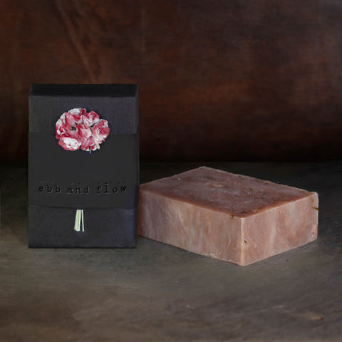 TOBACCO FLOWER BAR SOAP (VEGAN)